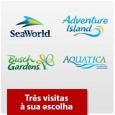 SeaWorld Orlando - Três parques à sua escolha - (Ingresso Voucher Promocional)